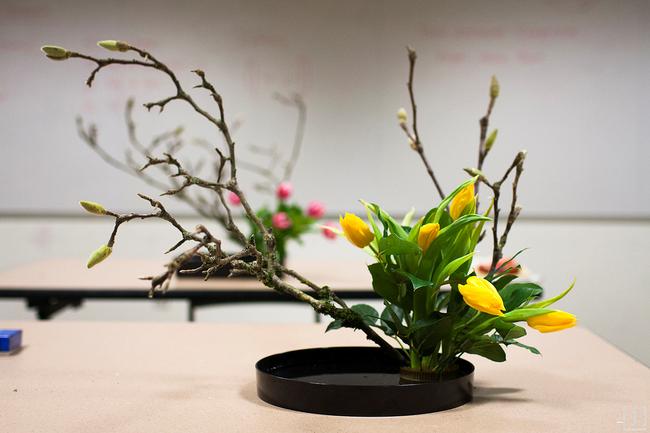 Ikebana - Nghệ thuật cắm hoa kết tinh từ triết lý sống của người dân đất nước Nhật Bản - Ảnh 20.