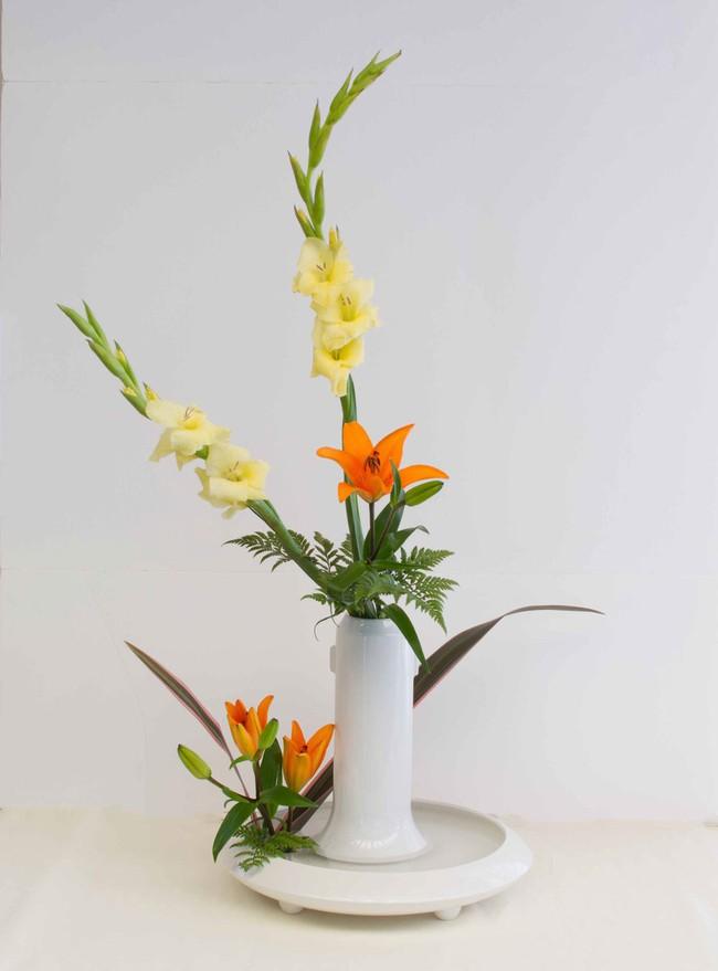 Ikebana - Nghệ thuật cắm hoa kết tinh từ triết lý sống của người dân đất nước Nhật Bản - Ảnh 11.