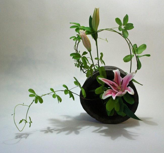 Ikebana - Nghệ thuật cắm hoa kết tinh từ triết lý sống của người dân đất nước Nhật Bản - Ảnh 10.