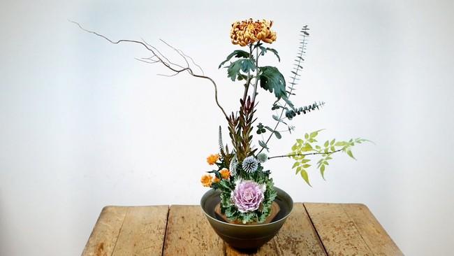 Ikebana - Nghệ thuật cắm hoa kết tinh từ triết lý sống của người dân đất nước Nhật Bản - Ảnh 9.