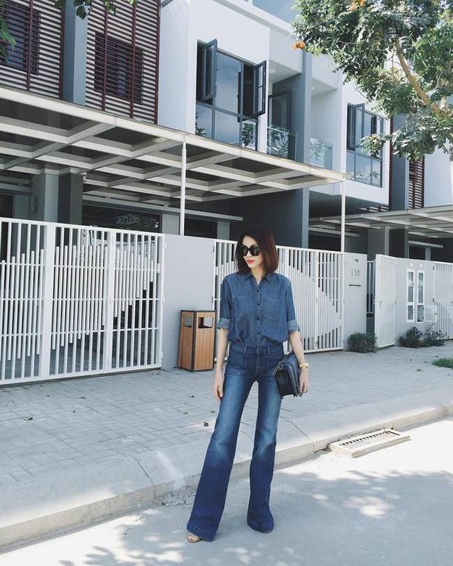 Mặc jeans thôi mà chân dài cả tấc, chẳng trách Hà Tăng có mỗi chiếc quần mà 3 năm rồi vẫn diện đi diện lại - Ảnh 5.