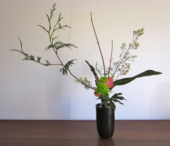 Ikebana - Nghệ thuật cắm hoa kết tinh từ triết lý sống của người dân đất nước Nhật Bản - Ảnh 3.