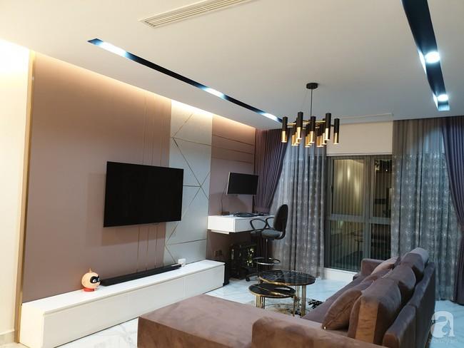 Căn hộ trên tầng 34 được đôi vợ chồng trẻ ở Hà Nội tự tay thiết kế và tâm huyết đến từng m²   - Ảnh 7.