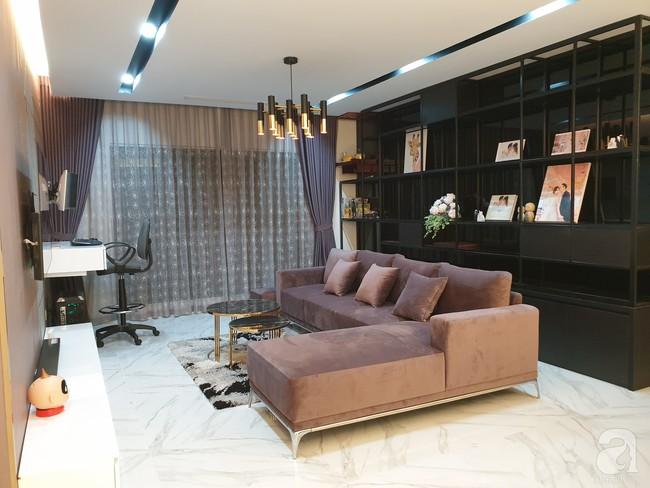 Căn hộ trên tầng 34 được đôi vợ chồng trẻ ở Hà Nội tự tay thiết kế và tâm huyết đến từng m²   - Ảnh 3.
