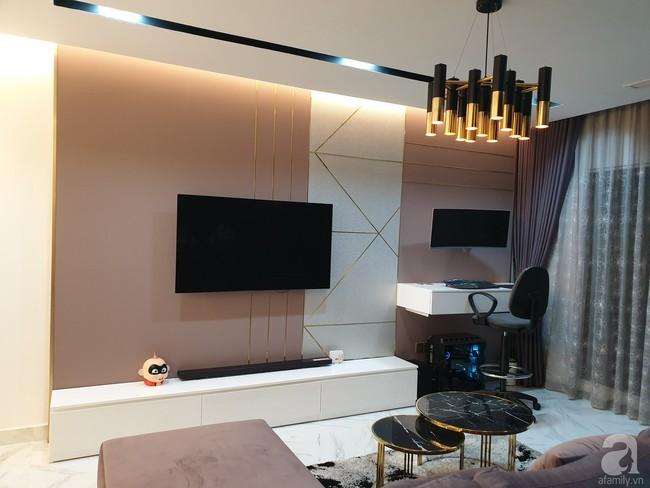 Căn hộ trên tầng 34 được đôi vợ chồng trẻ ở Hà Nội tự tay thiết kế và tâm huyết đến từng m²   - Ảnh 5.