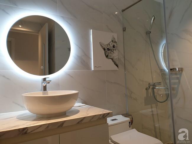 Căn hộ trên tầng 34 được đôi vợ chồng trẻ ở Hà Nội tự tay thiết kế và tâm huyết đến từng m²   - Ảnh 23.