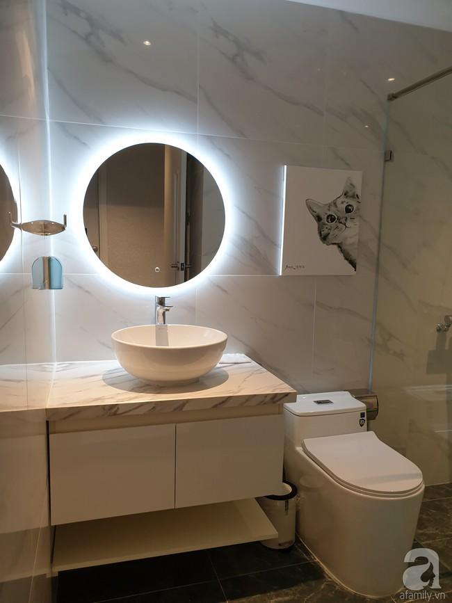 Căn hộ trên tầng 34 được đôi vợ chồng trẻ ở Hà Nội tự tay thiết kế và tâm huyết đến từng m²   - Ảnh 22.