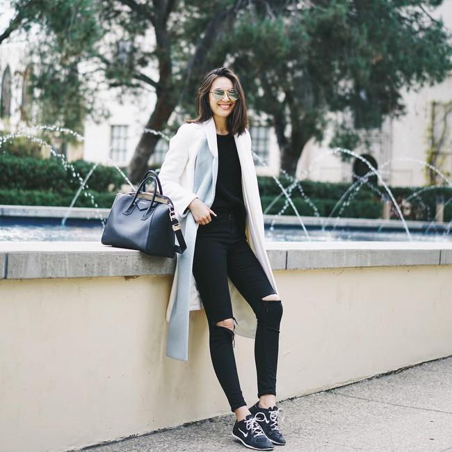 """Kết hợp cực """"ngọt"""" với mọi set đồ, sneakers chính là đôi giày phải sắm trong mùa đông năm nay - Ảnh 8."""