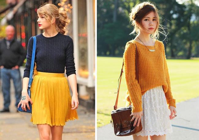 6 kiểu phục trang giúp chị em vừa trẻ trung, năng động mà lại không lo bị lạnh trong ngày trở gió - Ảnh 5.