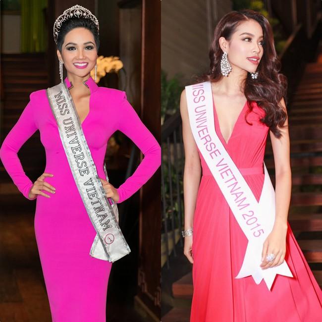 HHen Niê diện đầm hồng rực chuẩn bị thi Miss Universe 2018, fan lại nhớ về hình ảnh ngọt ngào của Phạm Hương ngày ấy - Ảnh 5.