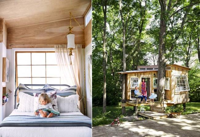 Ngôi nhà đặc biệt chỉ vỏn vẻn 10m² nhưng lại là mái ấm vô cùng hạnh phúc của gia đình 3 người - Ảnh 4.