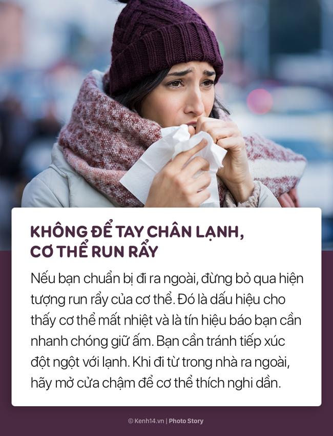 Thời tiết đang trở lạnh và nhiệt độ giảm nhanh, hãy nhớ những điều này để bảo vệ sức khoẻ trong những ngày tới - Ảnh 11.