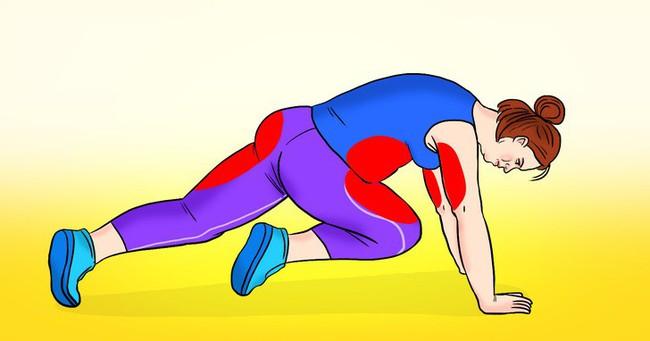 10 bài tập để giúp đốt cháy mỡ bụng cứng đầu của bạn trong chưa đầy một tháng - Ảnh 5.
