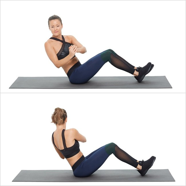 10 bài tập để giúp đốt cháy mỡ bụng cứng đầu của bạn trong chưa đầy một tháng - Ảnh 6.