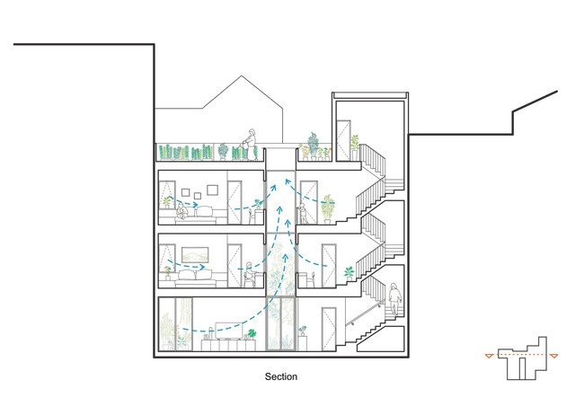 Xây từ miếng đất nhiều nhược điểm, ngôi nhà 85m² ở Hà Nội này vẫn được trầm trồ khen vừa đẹp, vừa xanh - Ảnh 18.