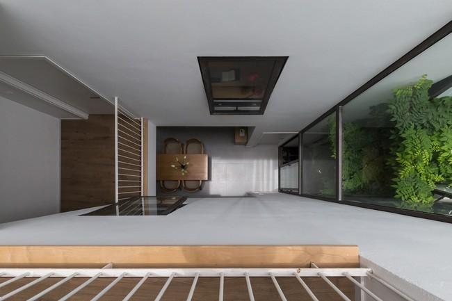 Xây từ miếng đất nhiều nhược điểm, ngôi nhà 85m² ở Hà Nội này vẫn được trầm trồ khen vừa đẹp, vừa xanh - Ảnh 12.