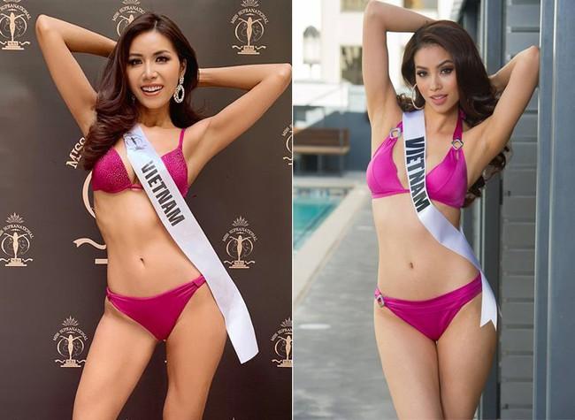 Nhìn Minh Tú diện bikini khoe dáng lại khiến chúng ta nhớ đến hình ảnh của Phạm Hương thuở nào - Ảnh 1.