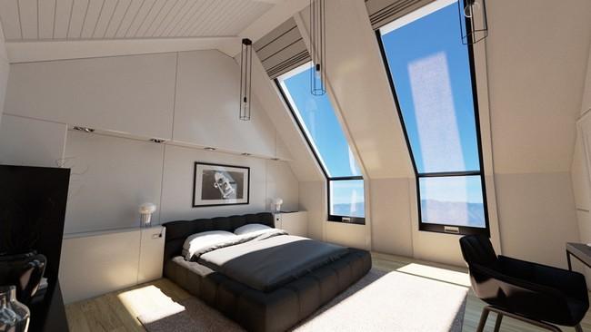 Như ở trong giấc mơ với 20 phòng ngủ trên tầng áp mái vô cùng xinh đẹp - Ảnh 10.