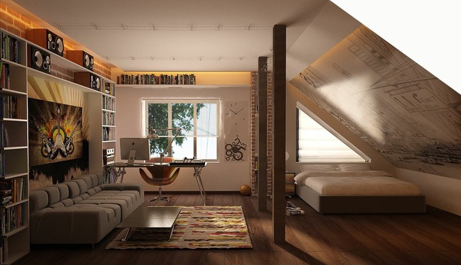 Như ở trong giấc mơ với 20 phòng ngủ trên tầng áp mái vô cùng xinh đẹp - Ảnh 17.