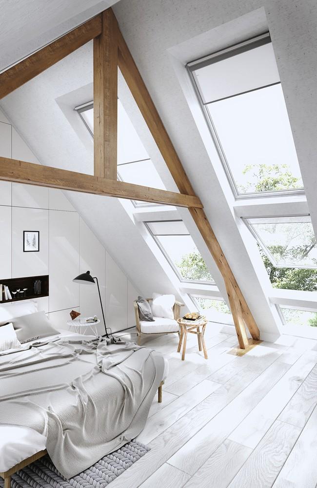 Như ở trong giấc mơ với 20 phòng ngủ trên tầng áp mái vô cùng xinh đẹp - Ảnh 3.