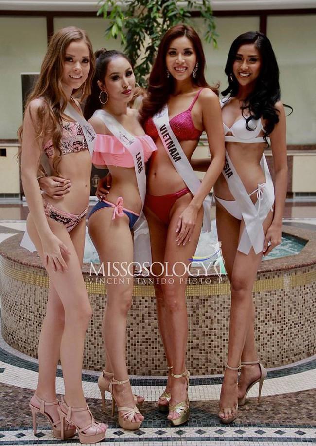 Nhìn Minh Tú diện bikini khoe dáng lại khiến chúng ta nhớ đến hình ảnh của Phạm Hương thuở nào - Ảnh 5.