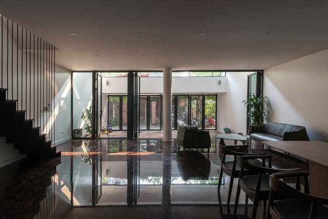 Cận cảnh ngôi nhà có ruộng bậc thang ngay mặt tiền đạt nhiều giải thưởng kiến trúc lớn ở Hà Tĩnh - Ảnh 6.