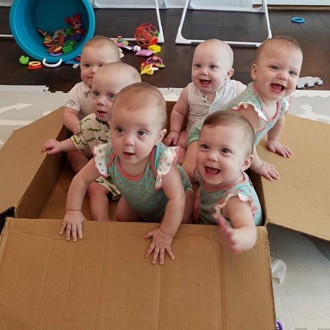 """Cuộc sống siêu bận rộn của gia đình sinh 6 em bé """"đẹp tựa thiên thần - Ảnh 24."""