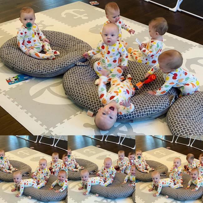 """Cuộc sống siêu bận rộn của gia đình sinh 6 em bé """"đẹp tựa thiên thần - Ảnh 25."""