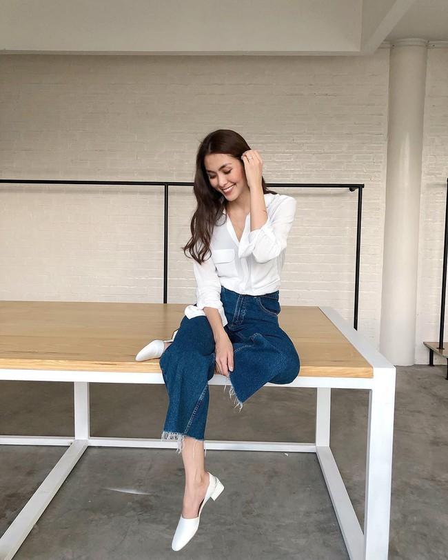 """Vẫn biết Hà Tăng mặc đẹp nhưng mấy ai ngờ bí kíp của cô đều nằm ở combo đơn giản """"dễ như ăn kẹo"""" này - Ảnh 2."""