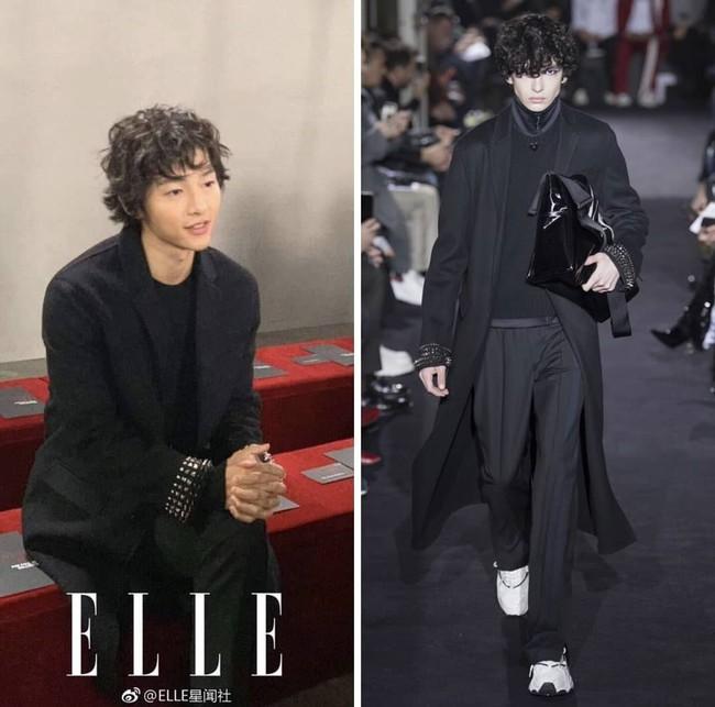 Dương Mịch - Song Joong Ki chung 1 khung hình: Chênh có 1 tuổi mà người như đôi mươi, người xuống sắc đều vì kiểu tóc - Ảnh 4.