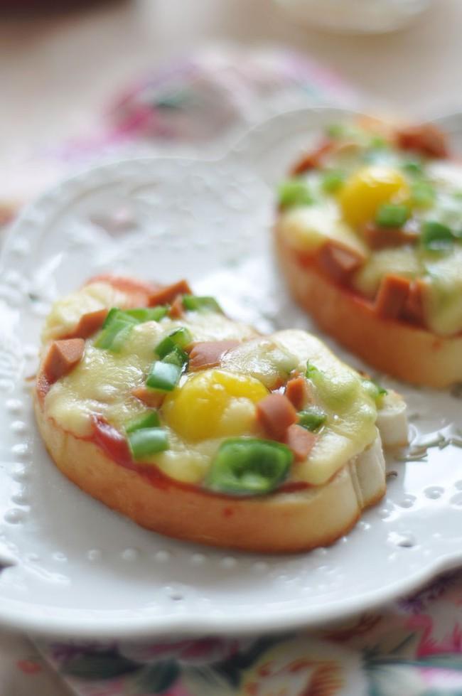 10 phút để có món pizza mini siêu nhanh cho bữa sáng - Ảnh 5.