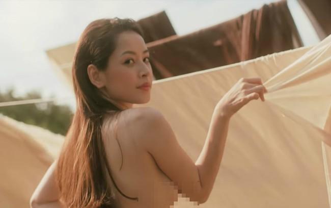 Xem lại loạt ảnh cởi áo, liếm trái cherry phản cảm của Chi Pu trong MV 16+ gây tranh cãi - Ảnh 7.