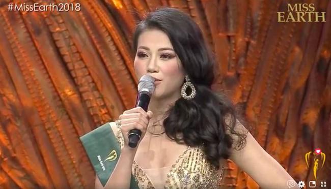 Đại diện Việt Nam - Nguyễn Phương Khánh đăng quang Hoa hậu Trái đất 2018 - Ảnh 1.
