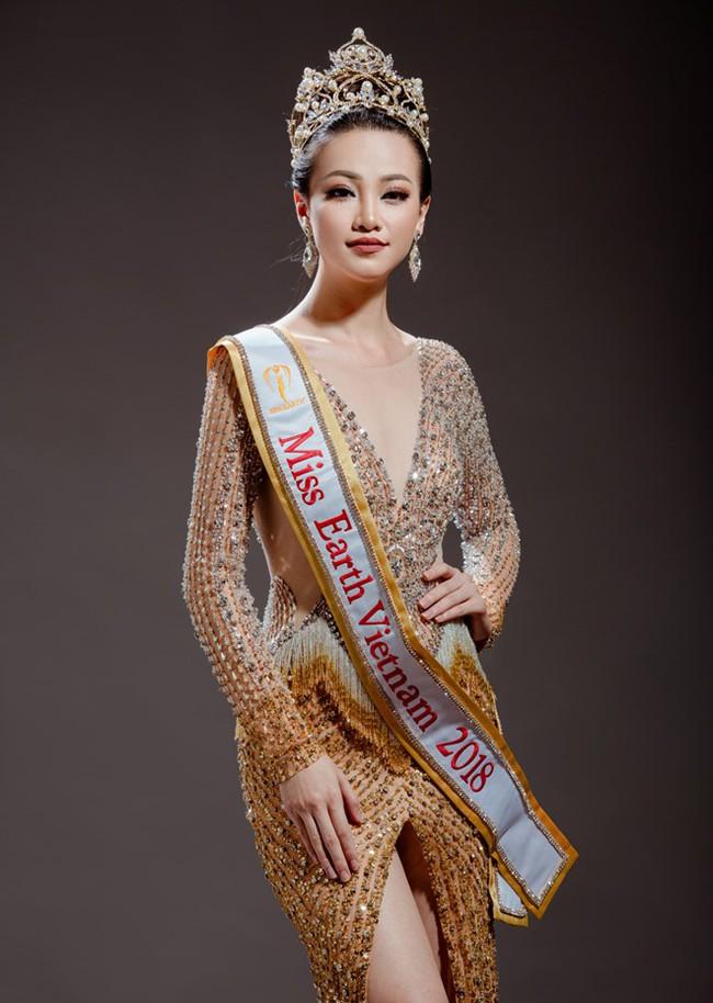 Miss Earth 2018 Phương Khánh: Vóc dáng thắt đáy lưng ong đáng ngưỡng mộ và vòng 3 khủng chạm ngưỡng 93cm - Ảnh 2.