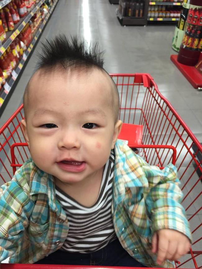 Đã tìm ra cậu bé chất chơi nhất Việt Nam, 4 tuổi đã sở hữu hàng chục kiểu tóc có một không hai - Ảnh 12.