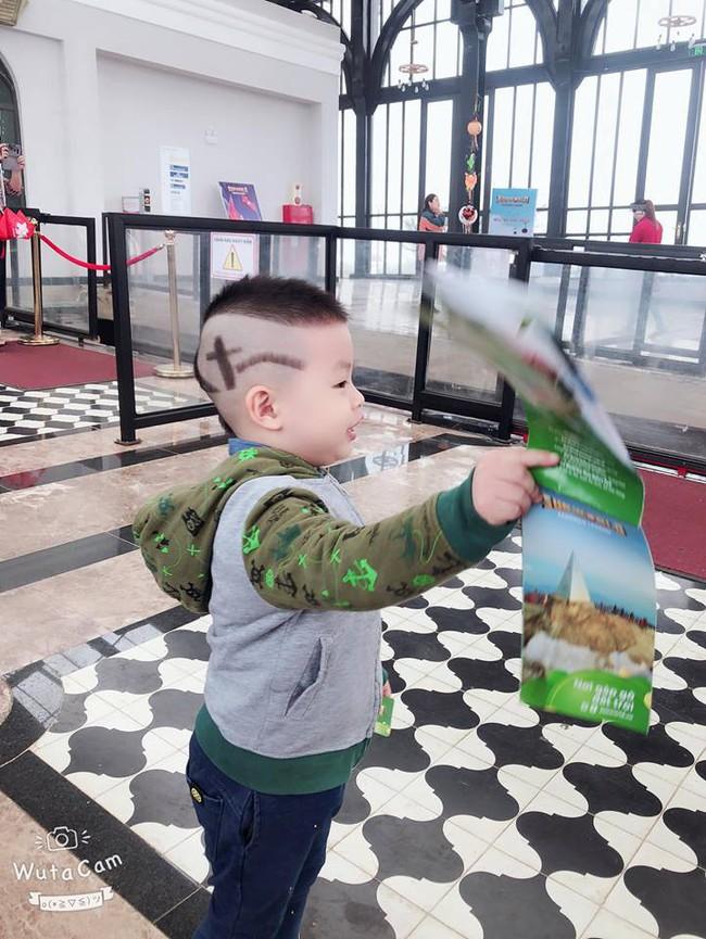 Đã tìm ra cậu bé chất chơi nhất Việt Nam, 4 tuổi đã sở hữu hàng chục kiểu tóc có một không hai - Ảnh 5.