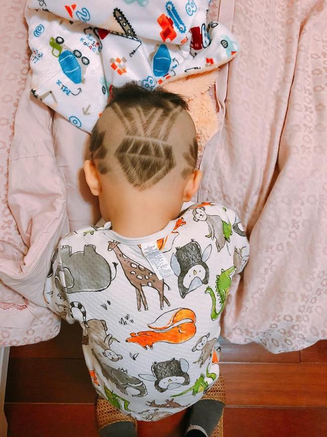 Đã tìm ra cậu bé chất chơi nhất Việt Nam, 4 tuổi đã sở hữu hàng chục kiểu tóc có một không hai - Ảnh 8.
