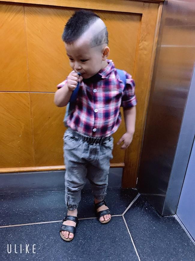 Đã tìm ra cậu bé chất chơi nhất Việt Nam, 4 tuổi đã sở hữu hàng chục kiểu tóc có một không hai - Ảnh 15.