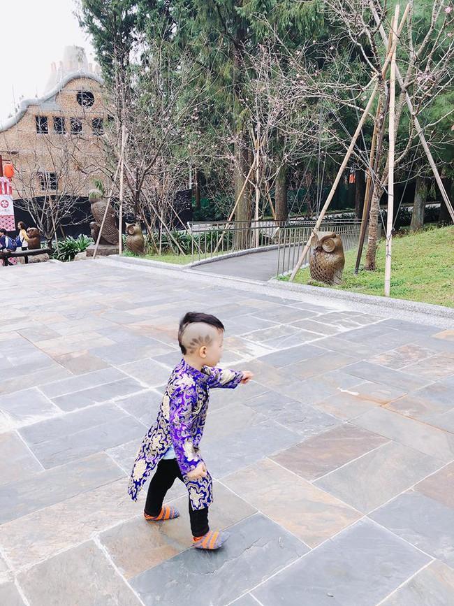 Đã tìm ra cậu bé chất chơi nhất Việt Nam, 4 tuổi đã sở hữu hàng chục kiểu tóc có một không hai - Ảnh 6.