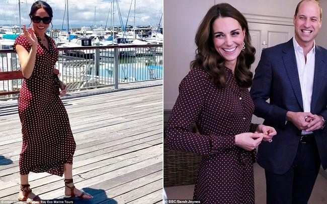 Công nương Meghan và Kate lắm khi mặc trông giống hệt chị em sinh đôi - Ảnh 5.