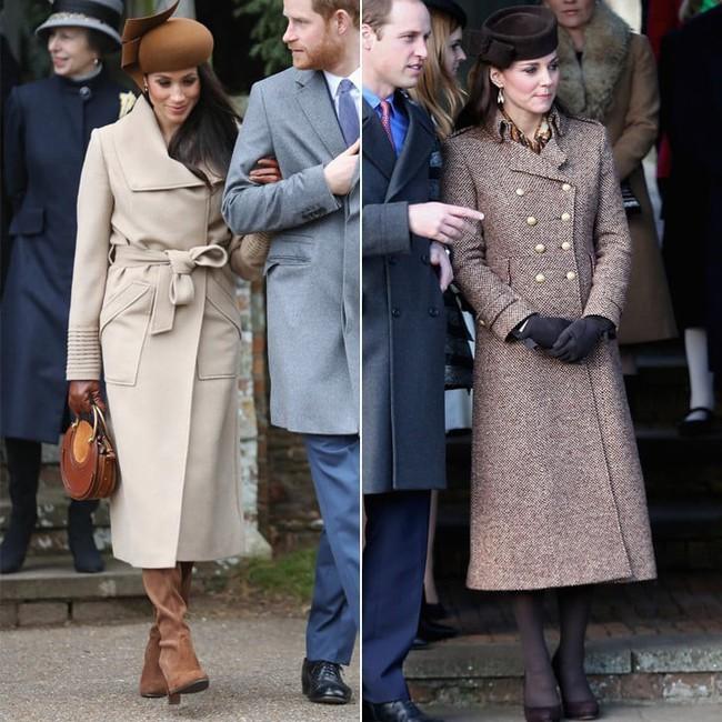 Công nương Meghan và Kate lắm khi mặc trông giống hệt chị em sinh đôi - Ảnh 6.