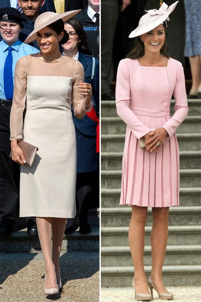 Công nương Meghan và Kate lắm khi mặc trông giống hệt chị em sinh đôi - Ảnh 7.