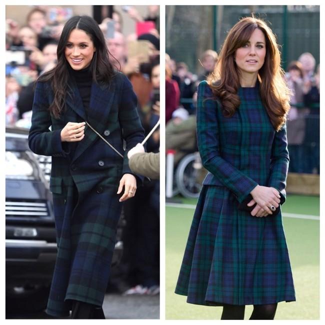 Công nương Meghan và Kate lắm khi mặc trông giống hệt chị em sinh đôi - Ảnh 8.