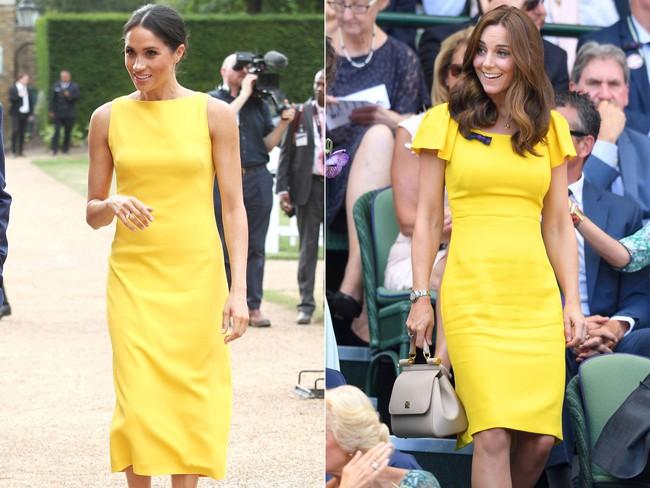 Công nương Meghan và Kate lắm khi mặc trông giống hệt chị em sinh đôi - Ảnh 9.