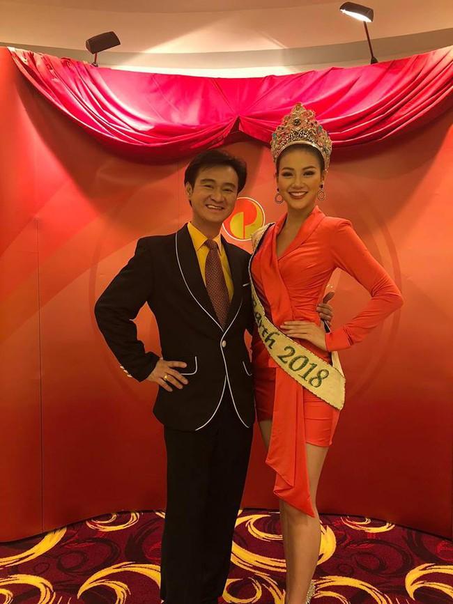 Lép vé về chiều cao, Nguyễn Phương Khánh vẫn nổi bần bật bên ba Á hậu Miss Earth 2018 - Ảnh 4.