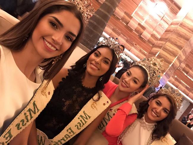 Lép vé về chiều cao, Nguyễn Phương Khánh vẫn nổi bần bật bên ba Á hậu Miss Earth 2018 - Ảnh 2.