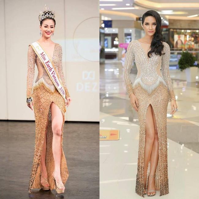 Ít ai ngờ rằng Phương Khánh đăng quang Miss Earth 2018 với vali toàn váy áo cũ của các Bông Hậu trước đó - Ảnh 4.