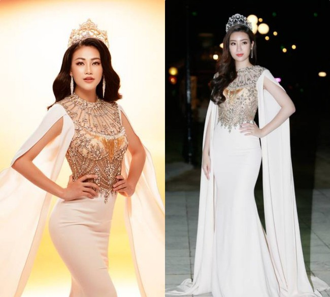 Ít ai ngờ rằng Phương Khánh đăng quang Miss Earth 2018 với vali toàn váy áo cũ của các Bông Hậu trước đó - Ảnh 2.