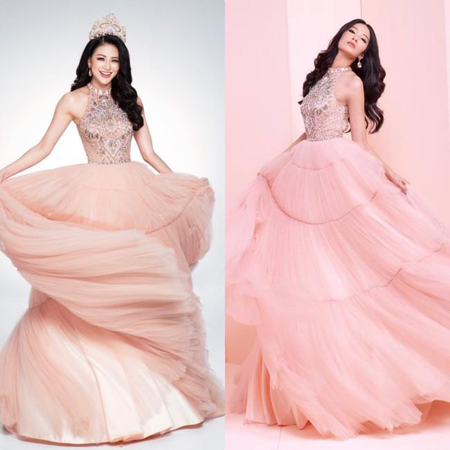 Ít ai ngờ rằng Phương Khánh đăng quang Miss Earth 2018 với vali toàn váy áo cũ của các Bông Hậu trước đó - Ảnh 7.