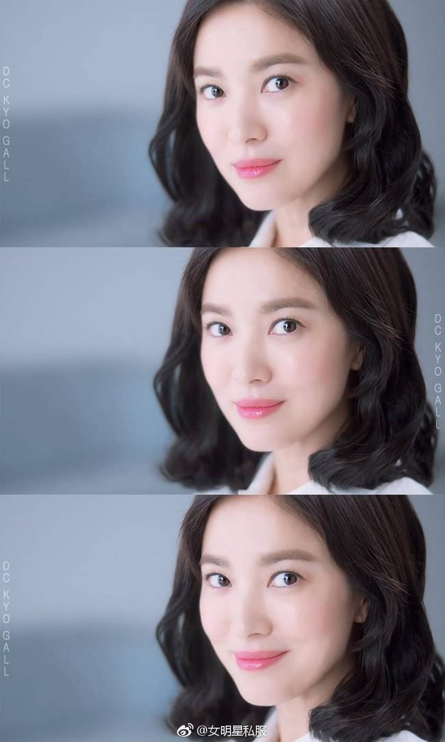 Ngỡ rằng hình ảnh mới của Song Hye Kyo rất hoàn hảo nhưng netizen Trung cho rằng dáng lông mày đã khiến cô kém sắc - Ảnh 6.